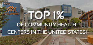 Top 1% of Commuity Health Centers in the United States!